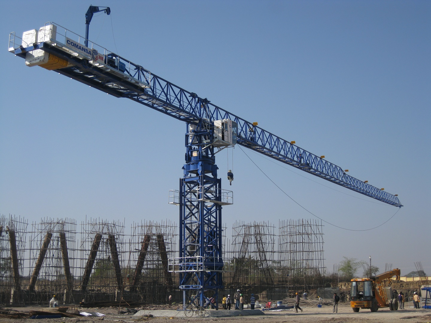 Tower Crane Design Calculations : Comansa cm t australian standard compliance